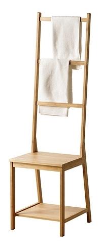 Un max d 39 originalit pour la chaise porte serviettes d for Chaise porte serviette