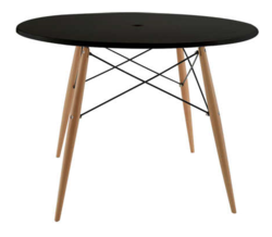 Table ronde kennedy by achat design la d co d cod e - Achat deco table ...