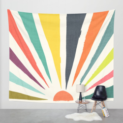 Rainbow-ray-tapestries