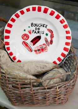 assiette Paola Navole Boucher de Paris