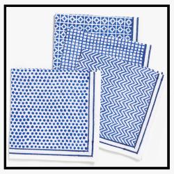 Serviettes de table en lin