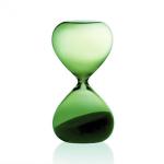 Sablier Hourglass vert