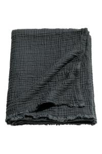 Plaid en coton froissé-2